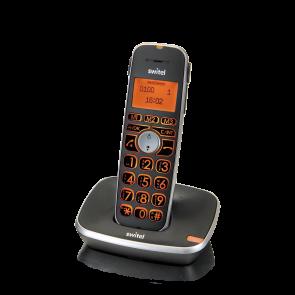 Switel D100 Vita Comfort DECT Telefon Set, Single