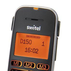 Switel D150 Vita Comfort DECT telefoonset, Antwoordapparaat, Single