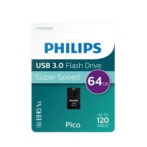 Philips USB flash drive Pico Edition 64GB, USB3.0